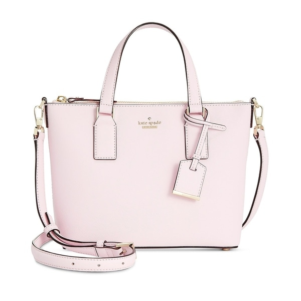 653269a28 Shop Kate Spade New York Lucie Small Crossbody Pink Lemonade - Free ...
