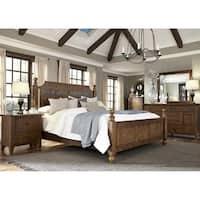 Hearthstone Rustic Oak Slate Nightstand