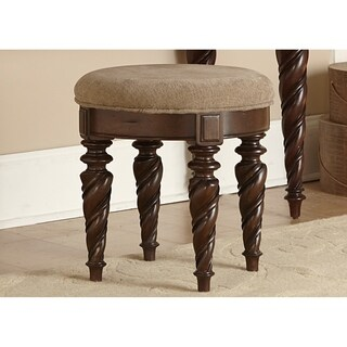 Arbor Place Brownstone Vanity Stool