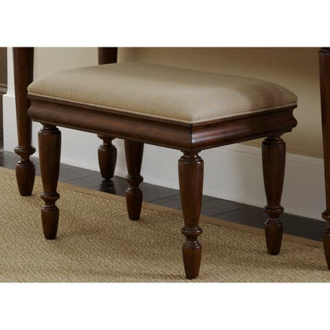 Rustic Traditions Rustic Cherry Vanity Stool