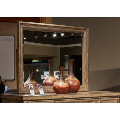 Carbon Loft Sachar Barley Brown Mirror