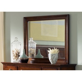 Hamilton Cinnamon Landscape Mirror - Brown