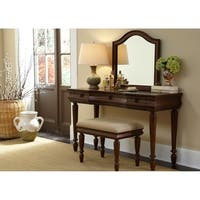 Rustic Traditions Cherry Vanity Desk