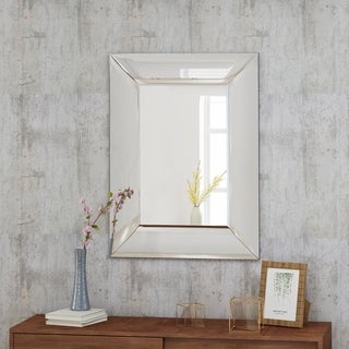 Loek Glam Wall Mirror by Christopher Knight Home