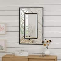 Avita Glam Wall Mirror by Christopher Knight Home - Clear