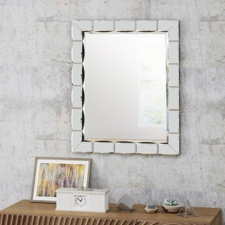Abelia Glam Wall Mirror by Christopher Knight Home - N/A