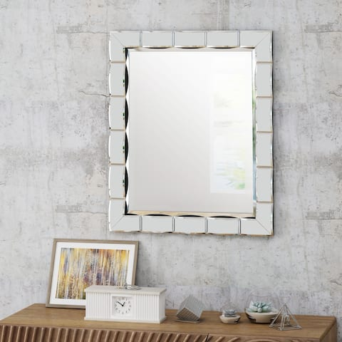 Abelia Glam Wall Mirror by Christopher Knight Home