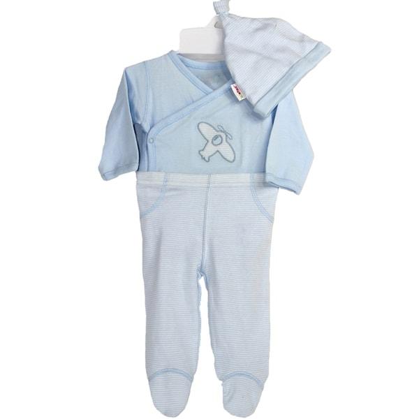 Airplane Baby 3 Piece Gift Set