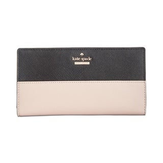 Kate Spade New York Cameron Street Stacy Wallet Tusk/Black