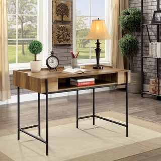 Furniture of America Dene Industrial Style Desk