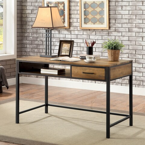 Furniture of America Jaxton Industrial Style Desk