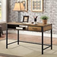 Furniture of America Jaxton Industrial Style Desk