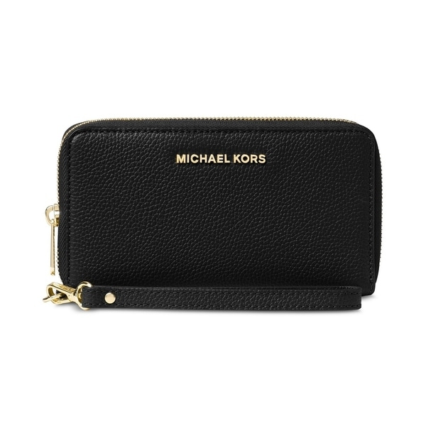9672d50f896a88 MICHAEL Michael Kors Mercer Large Flat Multi Function Phone Case Black