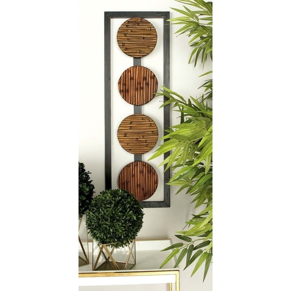 The Curated Nomad Lotta Wood Wall Panel