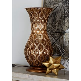 The Curated Nomad Belli Intricate Metal Vase