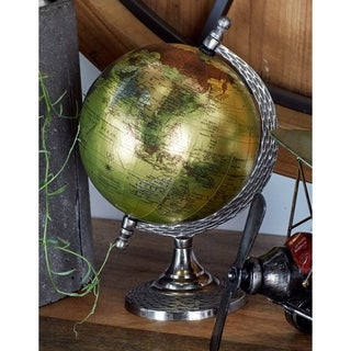Copper Grove Stoneham Metal and PVC Vintage Globe
