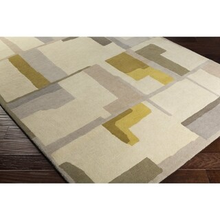 "Carson Carrington Nadendal Hand-Tufted Abstract Wool Area Rug - 5' x 7'6"""