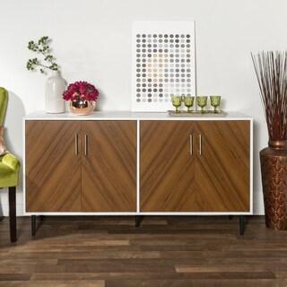 Carson Carrington Lindesberg 58-inch Modern Teak Buffet - 58 x 16 x 30H