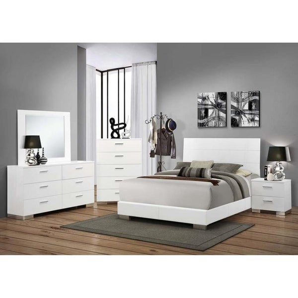 Porter 5 Piece Bedroom Set: Shop Porter Elegance 5-Piece Bedroom Set With Chest