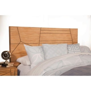 Contemporary Style Standard King Headboard In Mahogany Wood Brown