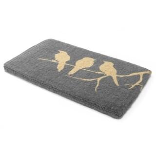 Birds On Branch Doormat 18 x 30 inches Handwoven Durable