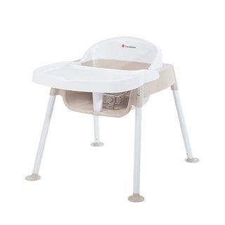 "Foundations Secure Sitter Feeding Chair 11"" Seat Height in White and Tan"