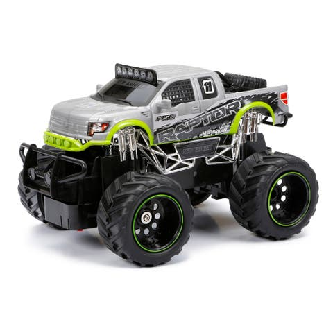 1:24 Scale RC FF Truck Ford Raptor Silver