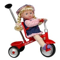 "12"" Baby Doll With Trike"