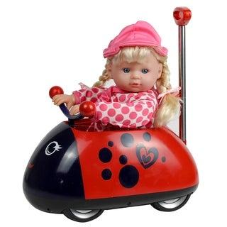 "13"" My First Ladybug Rideon with Telescopic Handle"