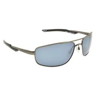 Ironman Men's 'Tracker' Gunmetal Frame Polarized Sunglasses