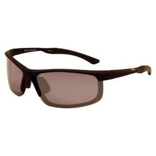Ironman Men's 'Endorphins' Black Frame Polarized Sunglasses