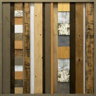Renwil 'Braga' Large Wood Wall Decor - Brown