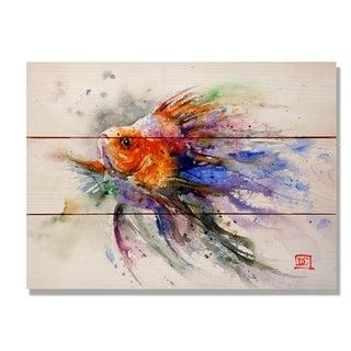 Goldfish - 15x11 Indoor/Outdoor Wall Art - Multi-color