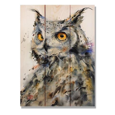 The Watcher - 11x15 Indoor/Outdoor Wall Art - Multi-color