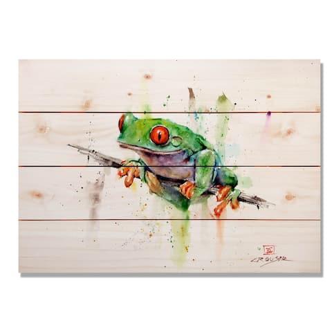 Tree Frog - 20x14 Indoor/Outdoor Wall Art - Multi-color