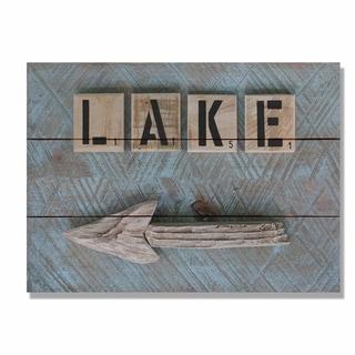 Lake Arrow - 15x11 Indoor/Outdoor Wall Art - Multi-color