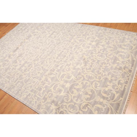 Irongate Design Oriental Hand-Knotted Area Rug - 6' x 9'