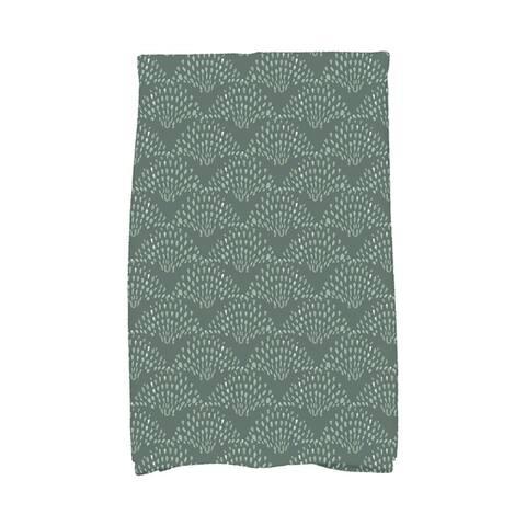 Fan Dance 16 x 25 Inch Geometric Print Hand Towel