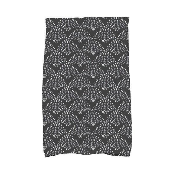 Fan Dance 16 x 25 Inch Geometric Print Hand Towel. Opens flyout.