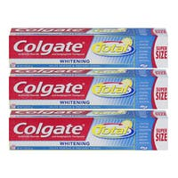 Colgate Total Anticavity 7.8-ounce Whitening Fluoride Toothpaste (Pack of 3)