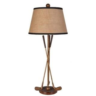 Lamps Per Se 32- inch Golf Club Table Lamp (Set of 2)