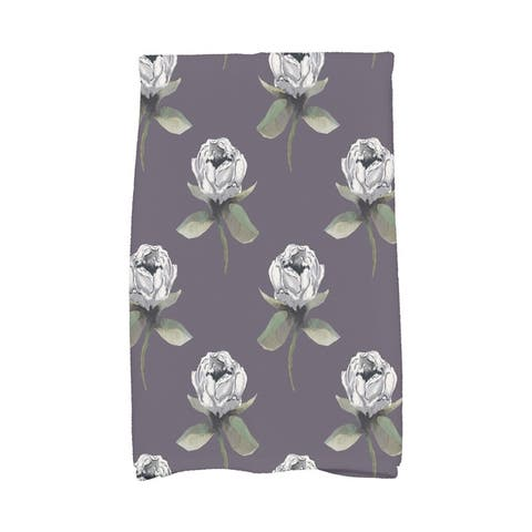 Floral Bunch 16 x 25 Inch Floral Print Hand Towel