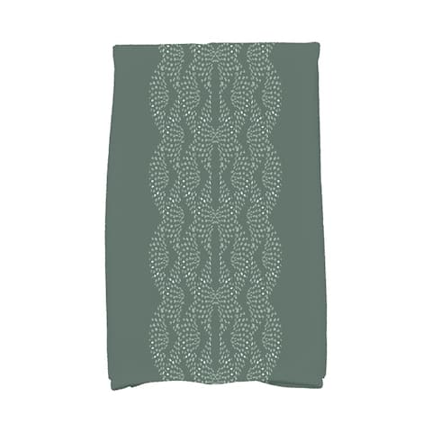 Dotted Focus 16 x 25 Inch Geometric Print Hand Towel