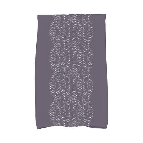 Dotted Focus 16 x 25 Inch Geometric Print Hand Towel