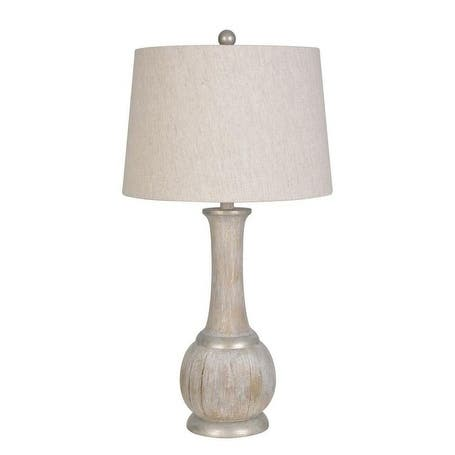 Lamps Per Se 28.5- inch Washed Wood Table Lamp (Set of 2) - N/A