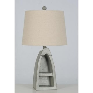 Lamps Per Se 22.5  Inch Grey Boat Table Lamp (Set Of 2)