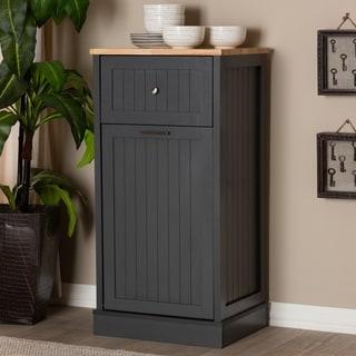 Contemporary Kitchen Cabinet by Baxton Studio