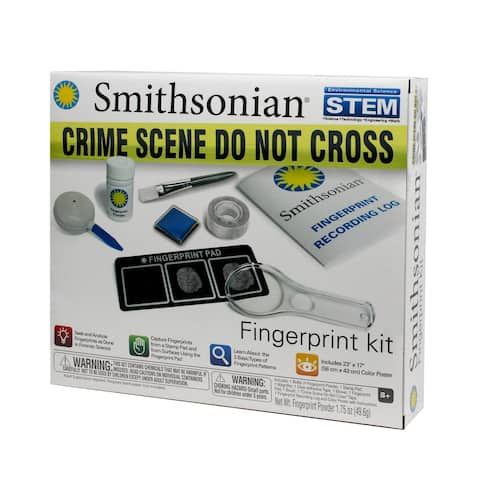 Smithsonian Finger Print Set