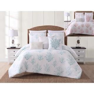 Oceanfront Resort Cove Printed 3 Piece Comforter Set