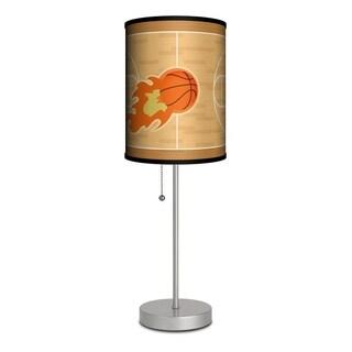 LAMP IN A BOX Basketball Rocket Kids Table Lamp